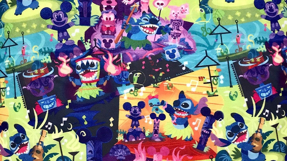 Stitch's Tiki Party