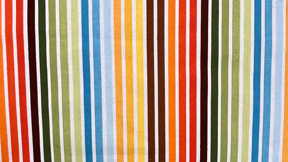 Muted Rainbow Stripe