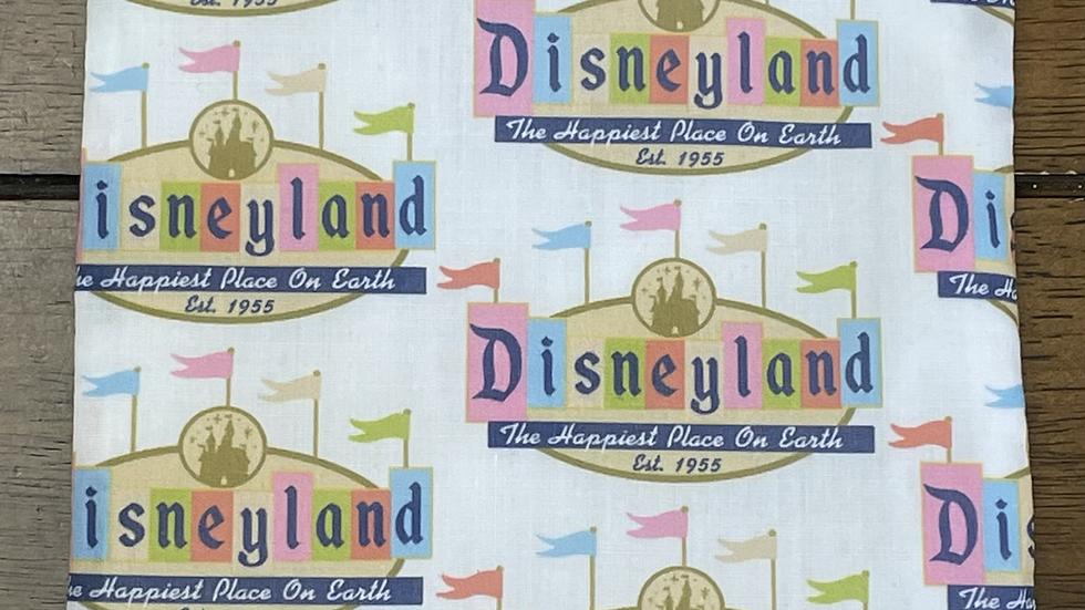 """Disneyland Sign Zipper Pouch (6.5""""x6.5"""")"""