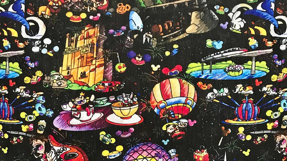 Walt Disney World at Night