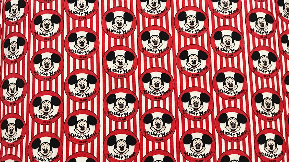 Mickey Mouse Club - Red Stripes