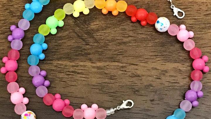 Rainbow Mask Chain