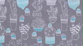 Grey Cactus (Flannel)