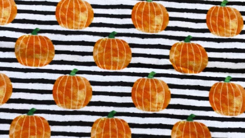 Striped Pumpkin Mask (PREORDER ONLY)