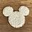 "Thumbnail: Sand Mickey Glitter Varsity Patch 2"""