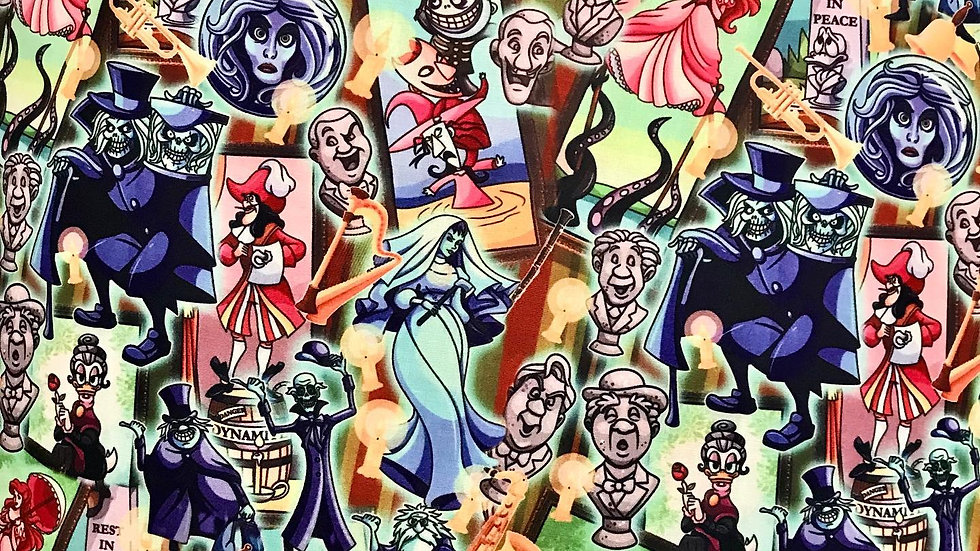 Haunted Mansion Disney Characters