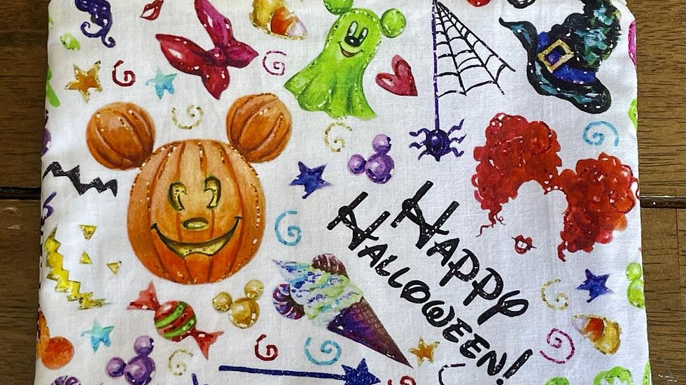 "Happy Halloween Zipper Pouch (8.5""x6.5"")"