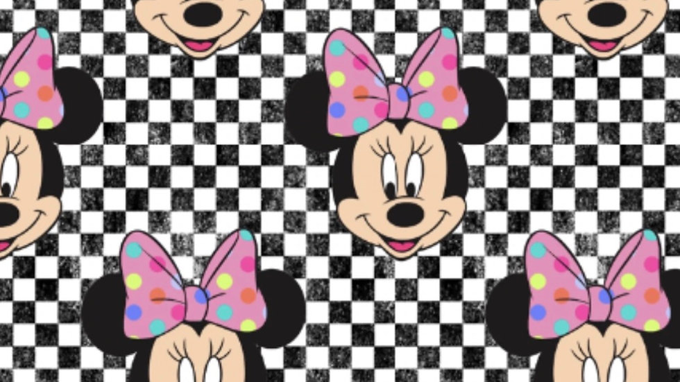(PREORDER ONLY) Minnie checkered