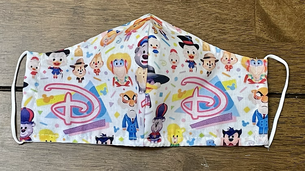 90s Cartoons Mask (PREORDER ONLY)