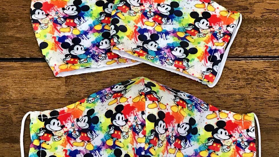 Mickey Paints