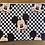 """Thumbnail: Mickey Mouse Checkered Zipper Pouch (8.5""""x7.5"""")"""