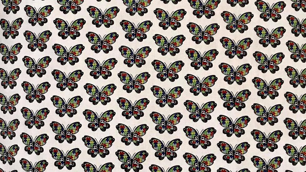 Autism Awareness Butterflies