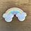 Thumbnail: Mickey Rainbow Glitter Patch