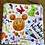 "Thumbnail: Happy Halloween Zipper Pouch (6.5""x6.5"")"