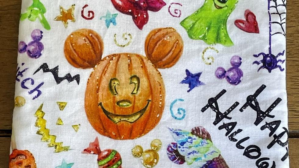 "Happy Halloween Zipper Pouch (6.5""x6.5"")"