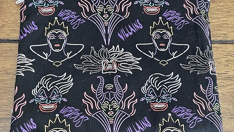"""Neon Villains Zipper Pouch (8.5""""x6.5"""")"""