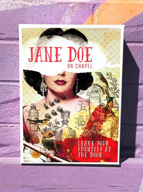 Jane Doe 1000 piece puzzle