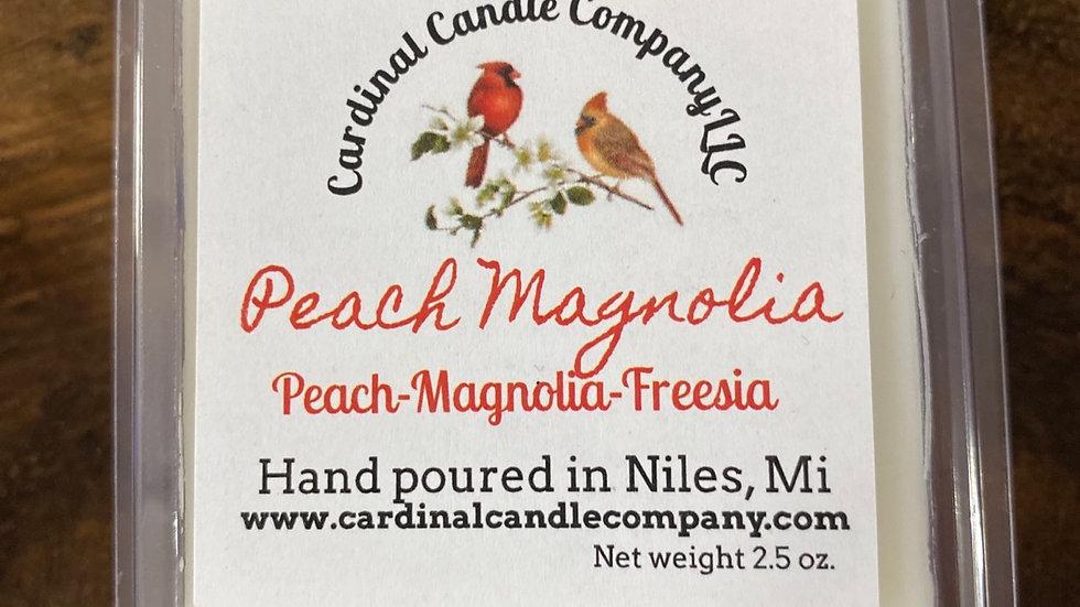 Peach Magnolia  wax melt