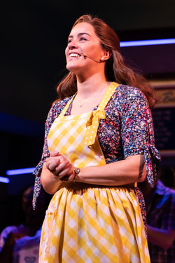 Lucie Jones as Jenna in Waitress the Musical (London)