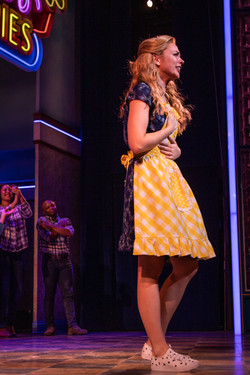 Desi Oakley as Jenna in Waitress the Musical (London)