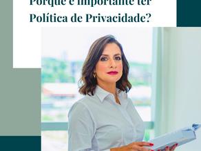Porque é importante ter Política de Privacidade?