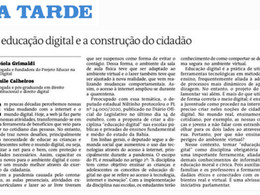Educação Digital e Construção do cidadão
