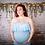 Thumbnail: Baby Blue Harriet Boho Ruffle Gown