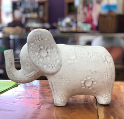Elephant planter. What would you plant in this cutie?