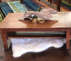 Coffee Table and Drift Wood