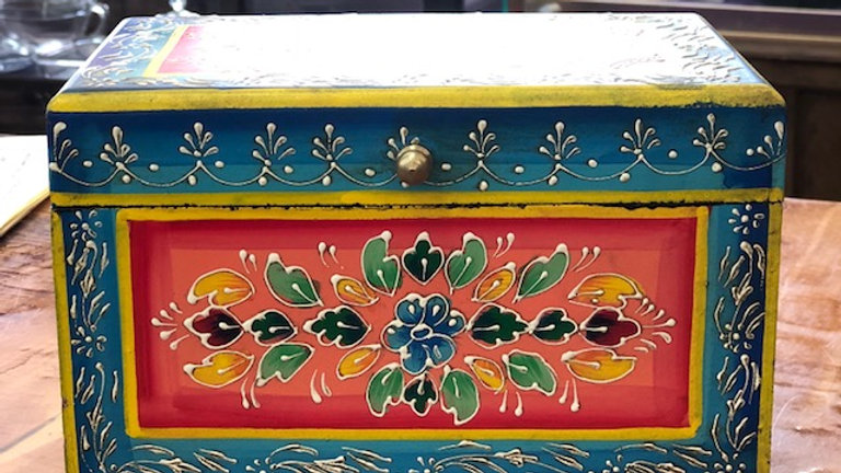 Hand Painted Large Jewelry/Stash Box