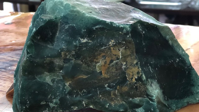 Green Jasper (rough)