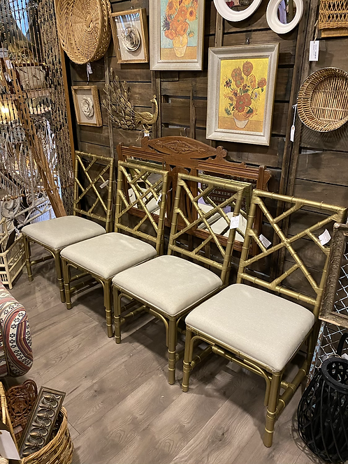 Golden Palace Bamboo Dining Chair A2