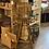 Thumbnail: Wooden Slatted Barstool