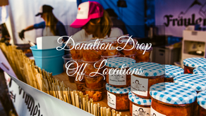 Donation Drop Off Locations Have Been Updated