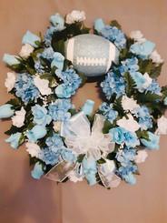 Custom Sports Wreath 04
