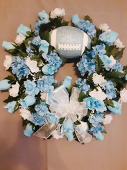 Custom Sports Wreath 04