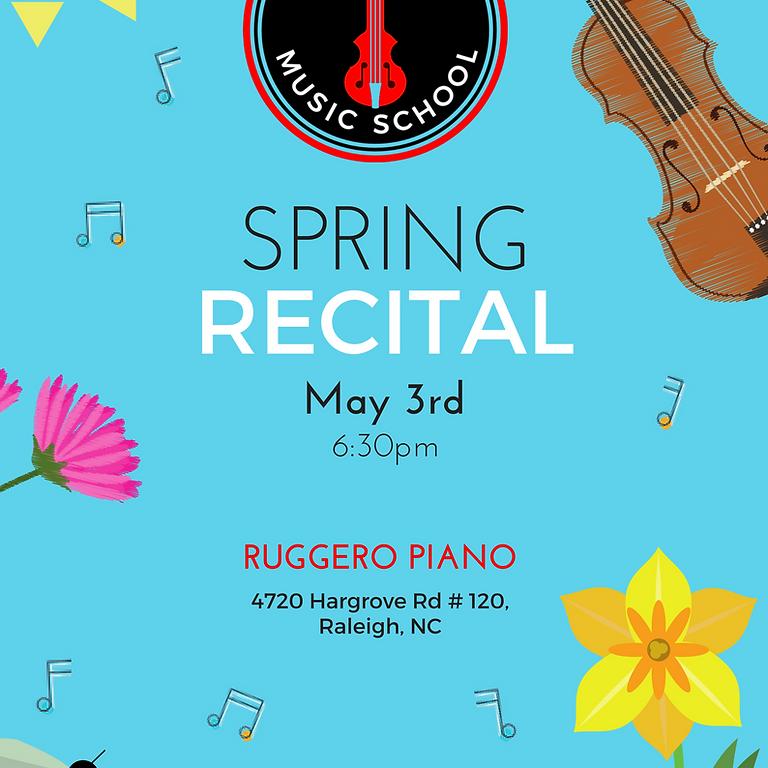 BCMS Spring Recital