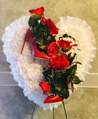Custom High Heels Heart 01