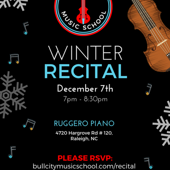BCMS Winter Recital
