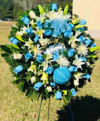 Custom Sports Wreath 01