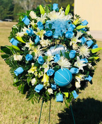 Custom Sports Wreath 01