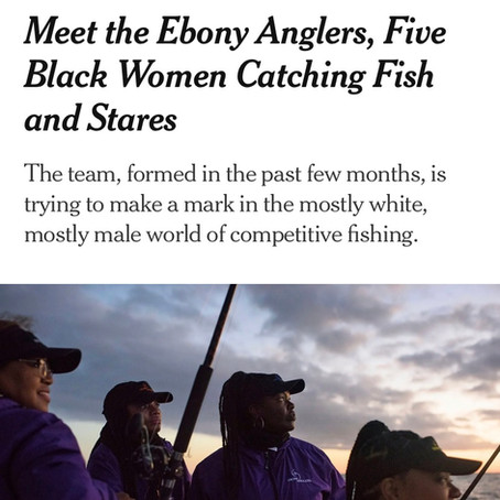New York Times features Ebony Anglers!