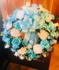 Custom Sports Wreath 03