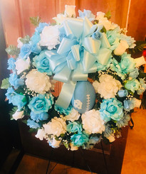 Custom Sports Wreath 03