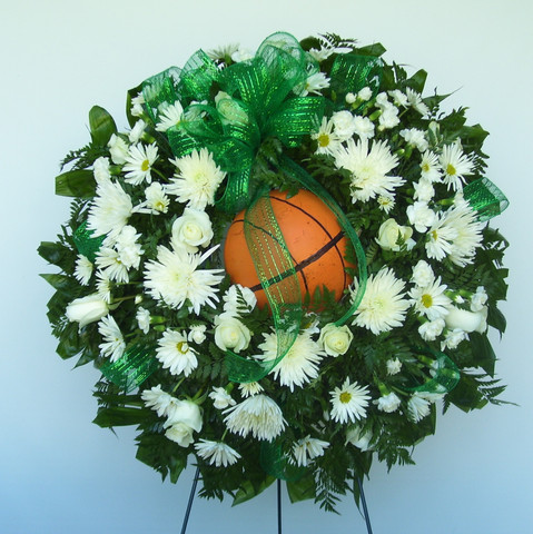 Custom Sports Wreath 05