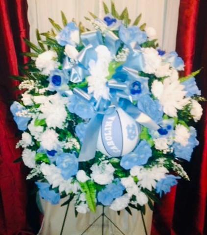 Custom Sports Wreath 02