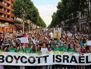 BERLIN STATE OFFICE CATEGORIZES BDS AS ANTISEMITIC