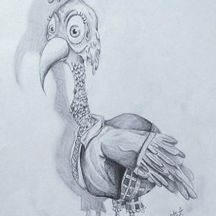 Sketch Book Bird