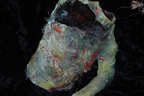 Decompose, 2009__Plaster Gauze, spray pa