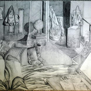 Messy Room Drawing Study 2011